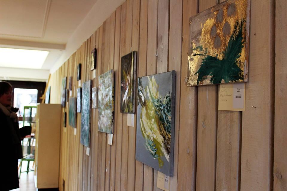 Ausstellung Wand 2