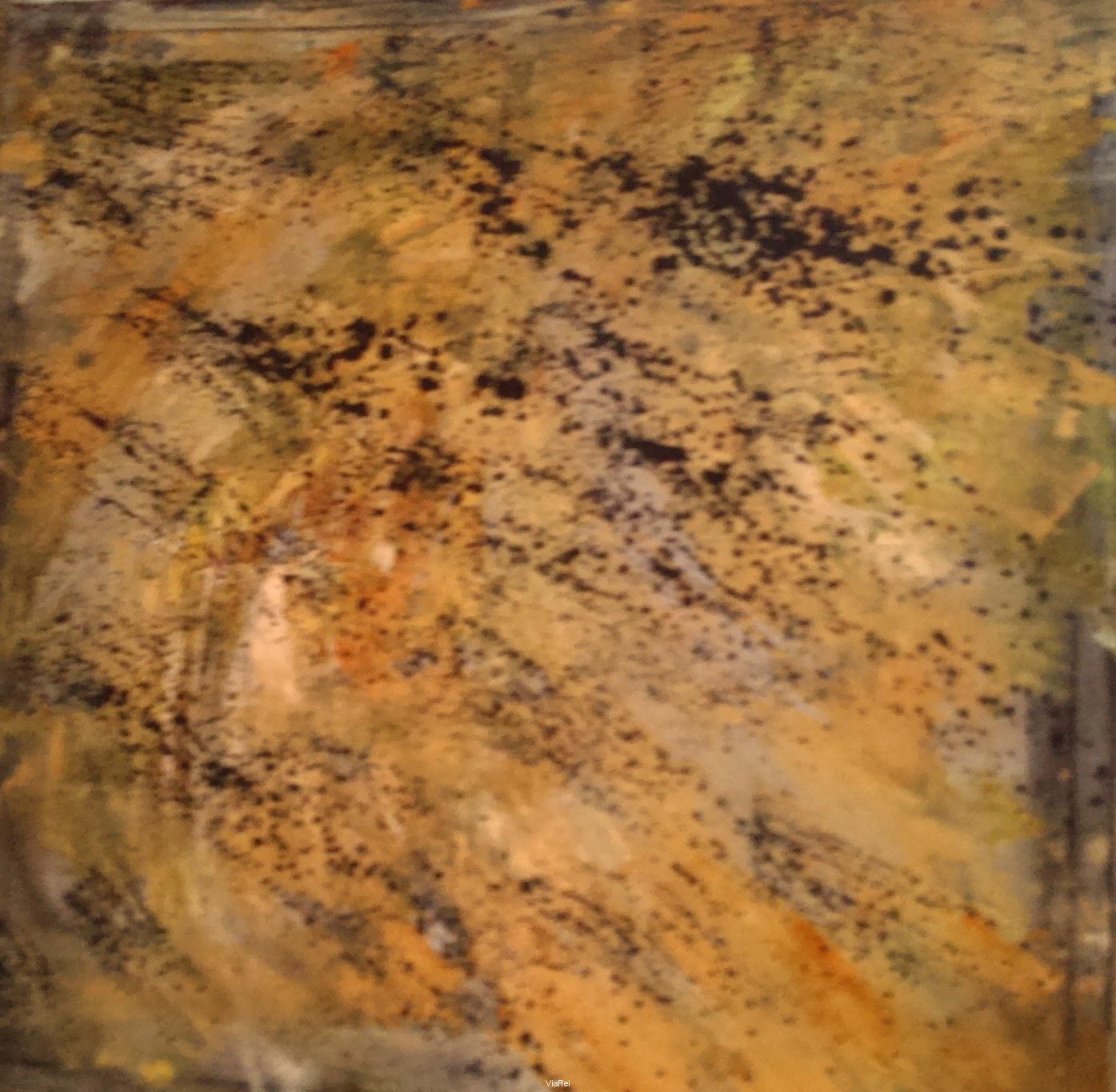 Ölgemälde Herbst 100x100cm 2017