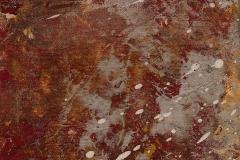 Ölgemälde Ritter 20x20 cm 2017