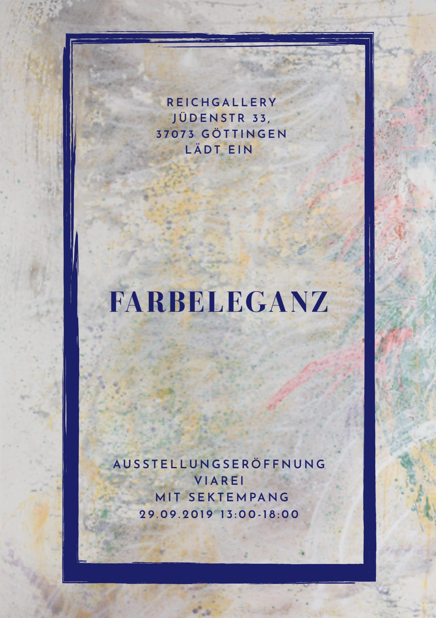 Einladung Reichgallery Jüdenstrasse 33 in Göttingen